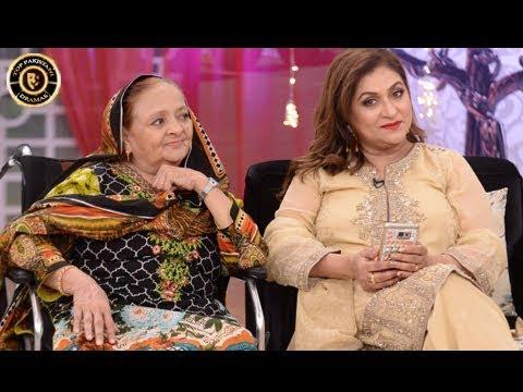 Shabir Jan Ki Behen Rokhsana Pehli Bar Live Show Main