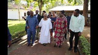 Rais wa Jamhuri ya Muungano wa Tanzania Mhe. Dkt. John Pombe Magufu...