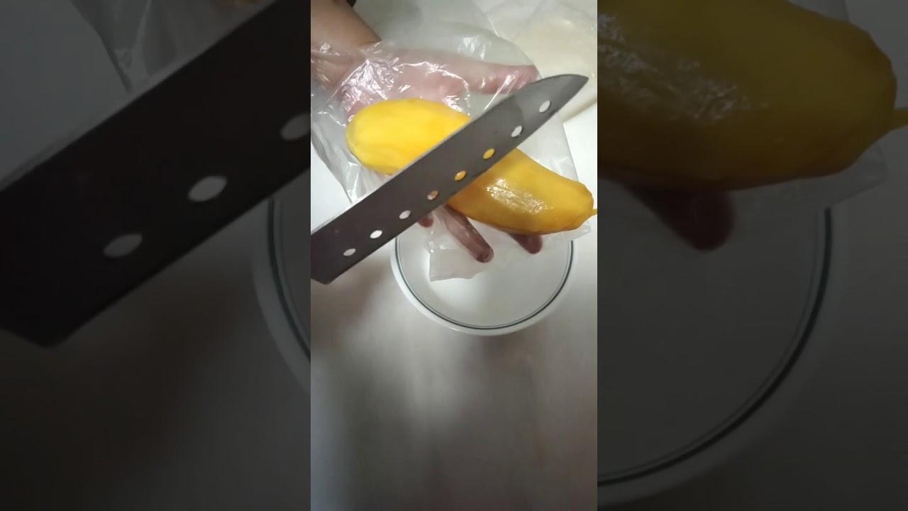 cara bentukkan mangga atas Panna Cotta (Puding) - YouTube