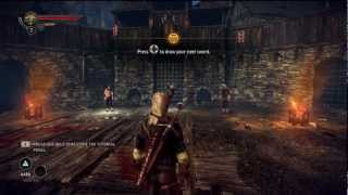 The Witcher 2: Assassins of Kings Enhanced Edition Gameplay w/ Commentary (Xbox 360) Part 2