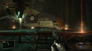 Deus Ex Human revolution gameplay PC HD maxed out gtx 560