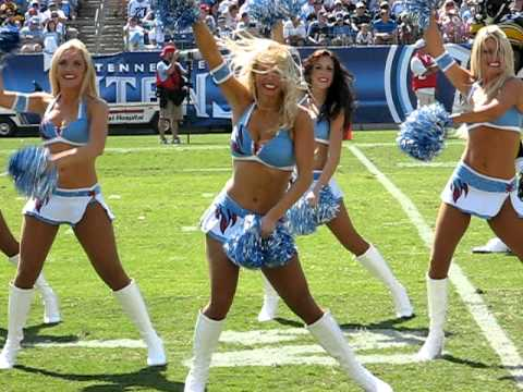 Titans Cheerleaders (My Angel is the) Centerfold