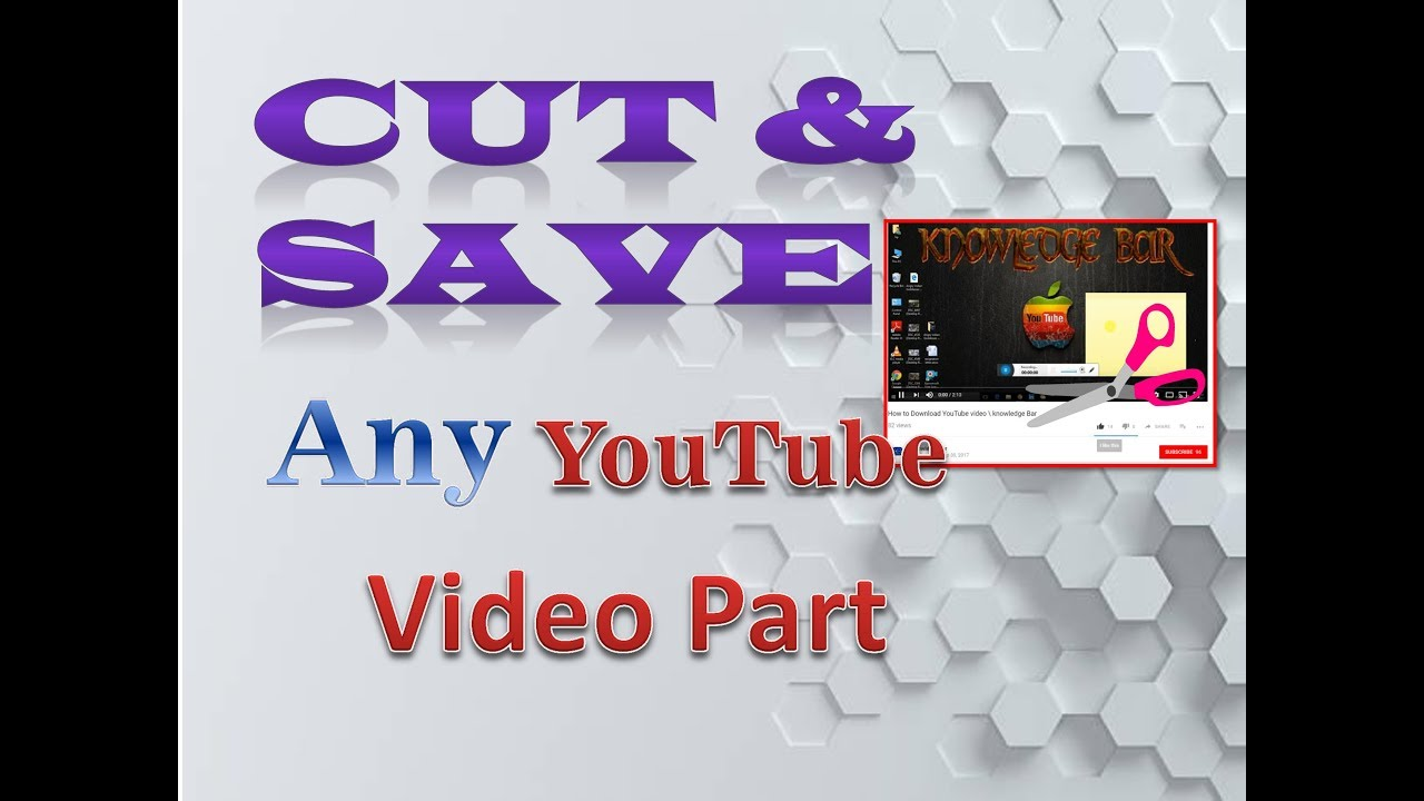 Download specific parts of youtube, online videos in many formats.