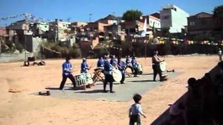Apresentação de grupo de tambores 5  taiko