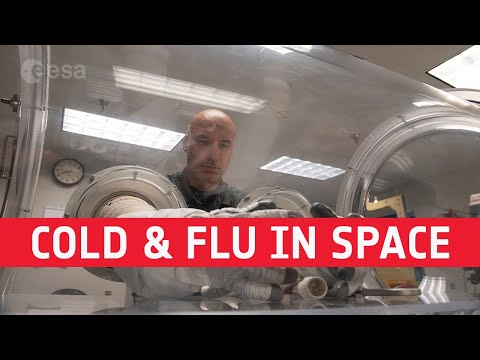 #AskLuca: colds and flu in space