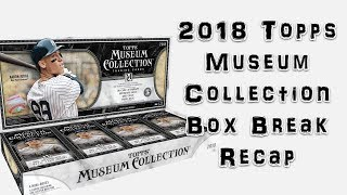 2018 Topps Museum Collection Box Break Recap