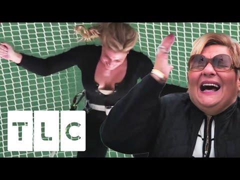 Lisa Valastro s Off Some Major Trapeze Skills  Cake Boss