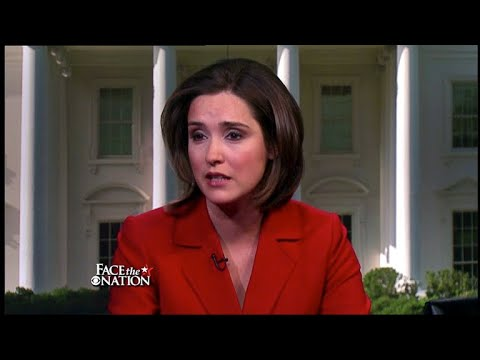 Margaret Brennan on Face the Nation in 2012
