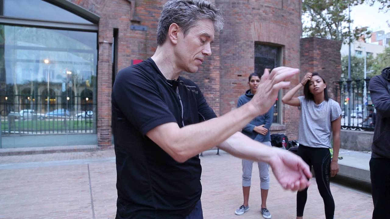 Activating energy flow in arms/hands before Tai Qi and Qi Gong training   Part 2