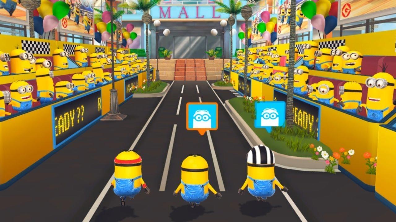 Despicable Me : Minion Rush – Jogger Minion Multiplayer ! Vs Other Minions