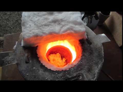Adding Borax while Smelting
