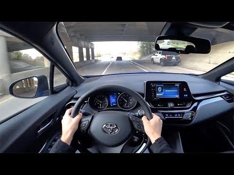2018 Toyota C-HR XLE Premium - POV Driving Impressions (Binaural Audio)