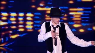 George Sampson: Singing In The Rain - Britain's Got Talent 2008 - The Final   1080 HD