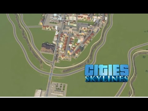 Cities: Skylines - County Building - Part 9: Traffic Control