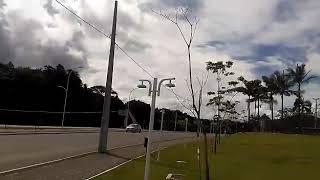 Luminárias da Via Verde são arrancadas e quebradas