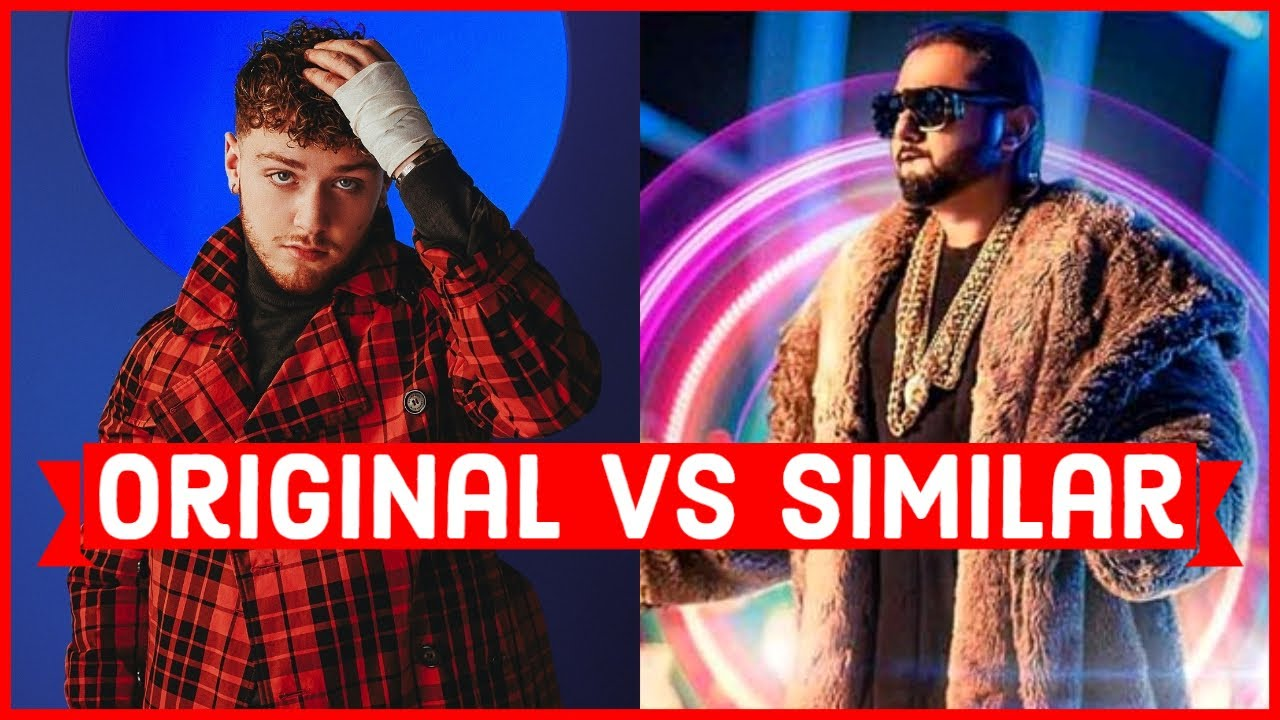 Original Vs Similar - Songs That Sound The Same As Another - Bollywood Punjabi Copied Songs