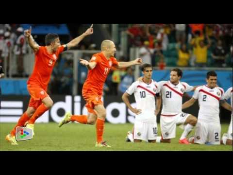 Netherlands' Krul defends penalty antics