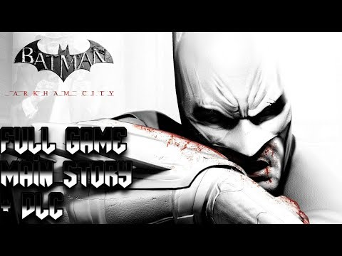 Batman: Arkham City (PS4 Pro 1080p 60fps) Longplay Walkthrough Full Game (Main Story + DLC)