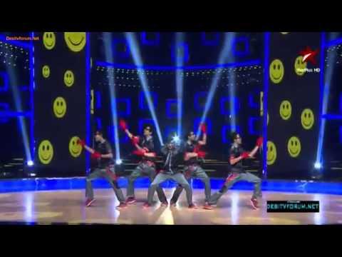 A virus crew in india's dancing superstar