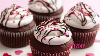 89  valentines day cupcake decoration - how to decorate valentine cupcakes | cupcake tutorials