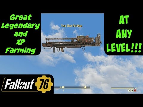 Fallout 76: Great Legendary and XP Farming at Any Level
