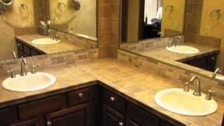 Bath Bathroom Vanity Tile Countertop Remodel Grout Grouting Sealer Repair Colorado Springs