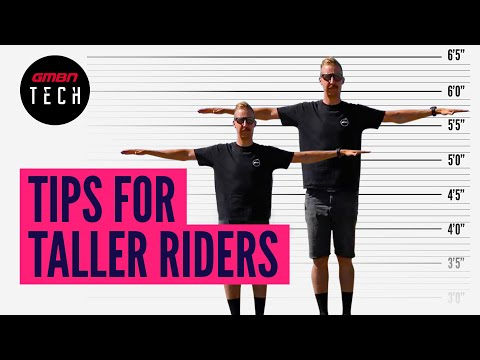 Mountain Bike Set Up Tips For Taller Riders   GMBN Guide To Bike Set Up