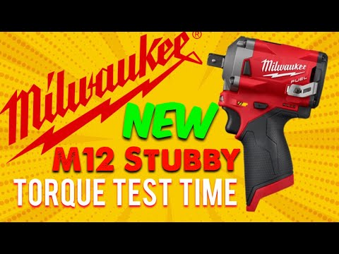 "New Milwaukee M12 Stubby 1/2"" Torque Test"