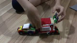 Lego invention of Kevin, a Myanmar boy