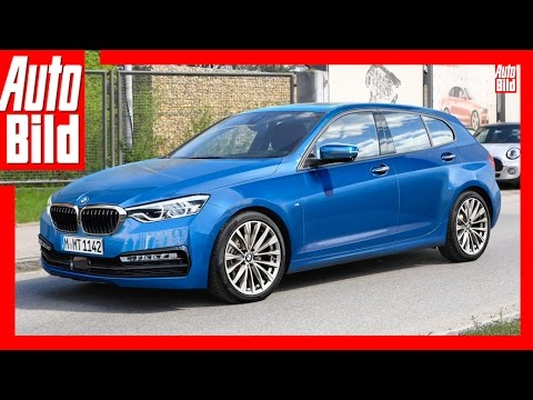 bmw 1er 2019 1er kommt mit frontantrieb youtube. Black Bedroom Furniture Sets. Home Design Ideas