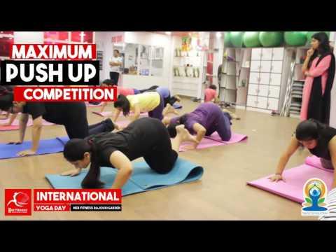 International yoga day - Rajori garden Center Yoga Center
