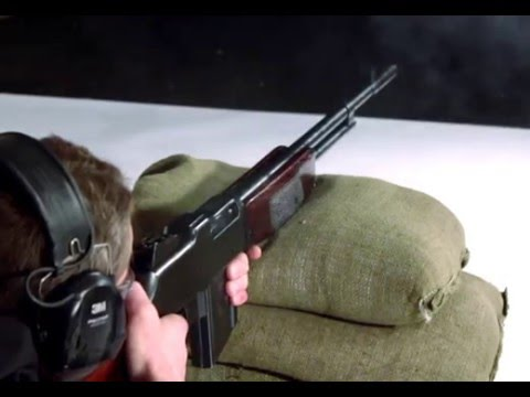 Firearm Demonstration: Browning Automatic Rifle, 1918 Model