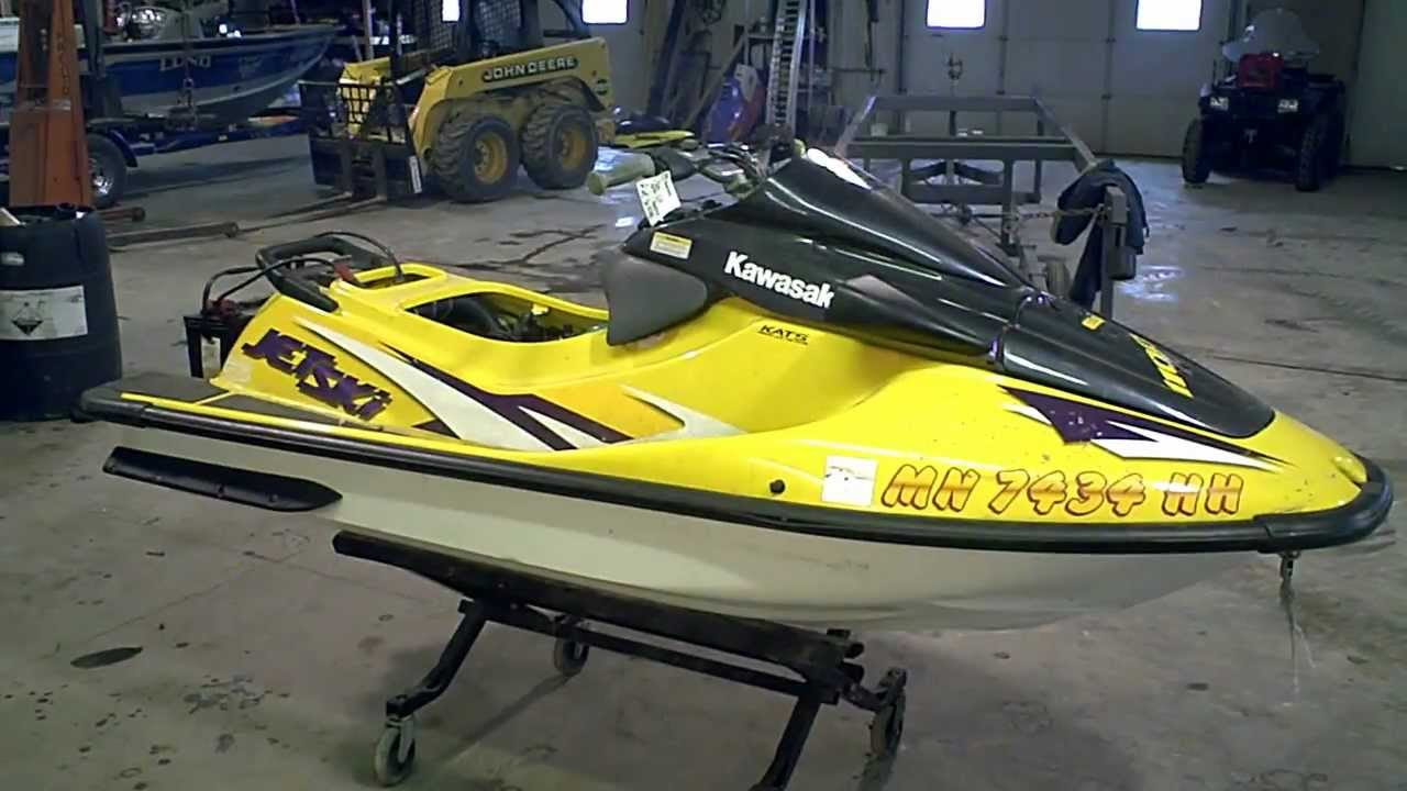 lot 1157a running 1998 kawasaki zxi 1100 jet ski - youtube