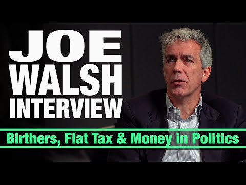 The Inside Scoop On Life In Congress - Former GOP Rep Joe Walsh Interview w/ Cenk Uygur