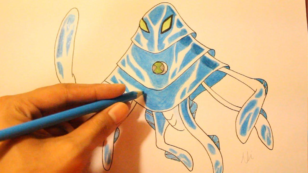 How to draw ben10 alien xlr8 - How To Draw Ben10 Alien Xlr8 33