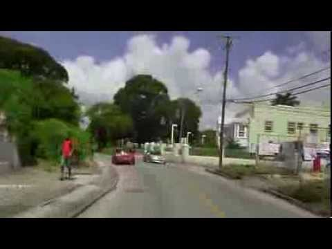 Driving in Barbados - Bridgetown Journey Part 2