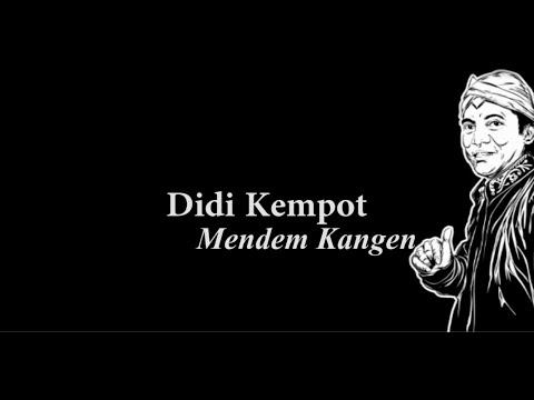 Didi Kempot Mendem Kangen Lirik