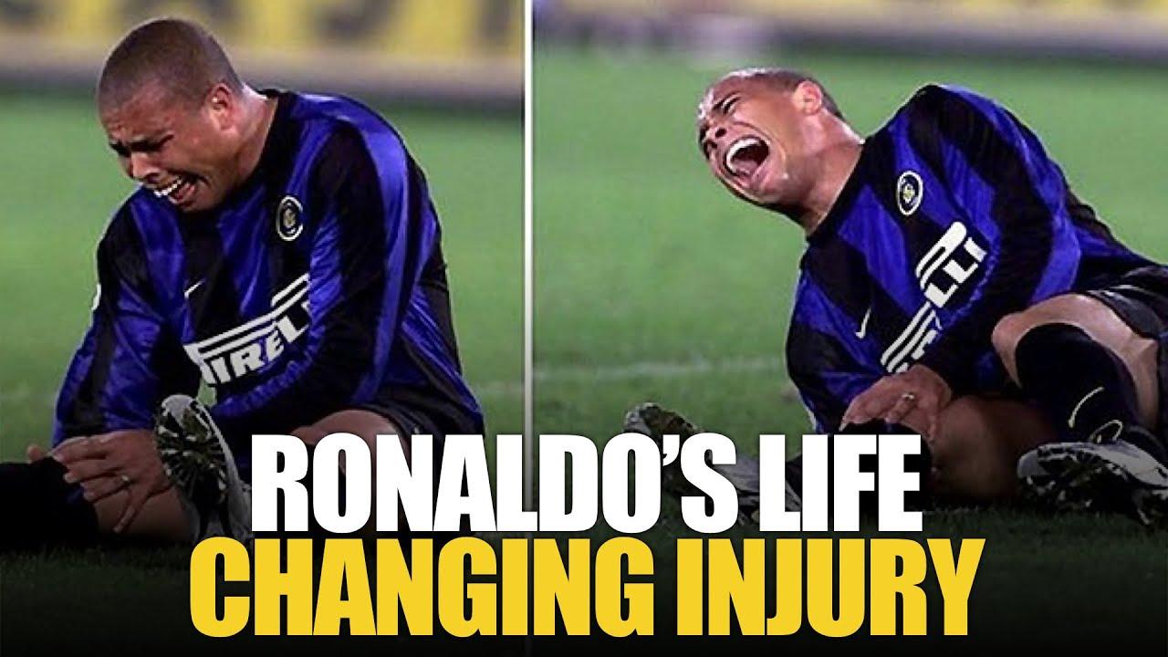 The Story Behind Ronaldo Nazario S Knee S The Royal Football Youtube