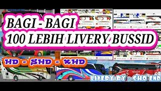 Kumpulan Skin Livery Bussid HD SHD DAN XHD 100 Skin Livery