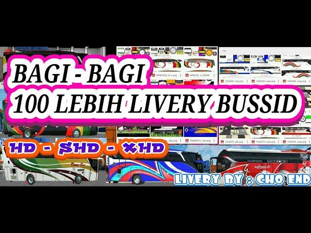Kumpulan Skin Livery Bussid HD , SHD, DAN XHD ||| + 100 Skin Livery
