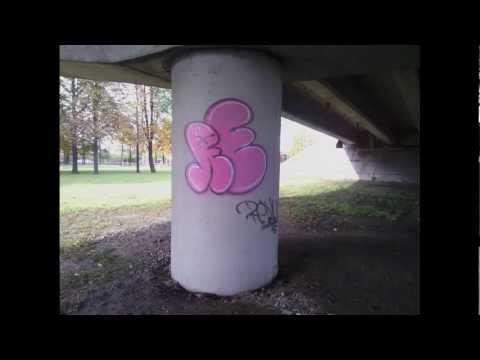 Latvian graffiti artists REDLUM and SATOK - simple slide show.