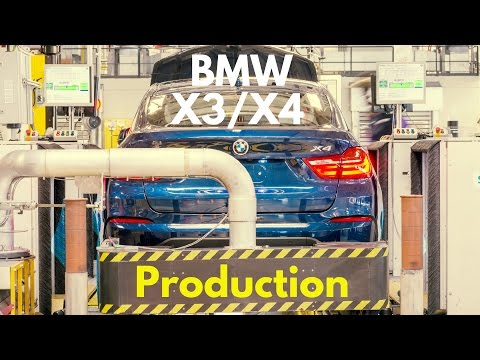 BMW X3/X4 Production Spartanburg
