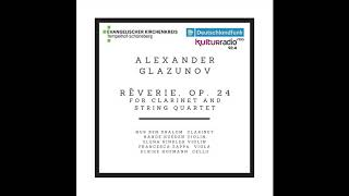 Alexander Glazunov Rêverie, Op  24 live recording at the Apostel Paulus Kirche Berlin