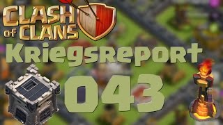 "COC [Kriegsreport #043] ""Endlich Clan Level 4"" 