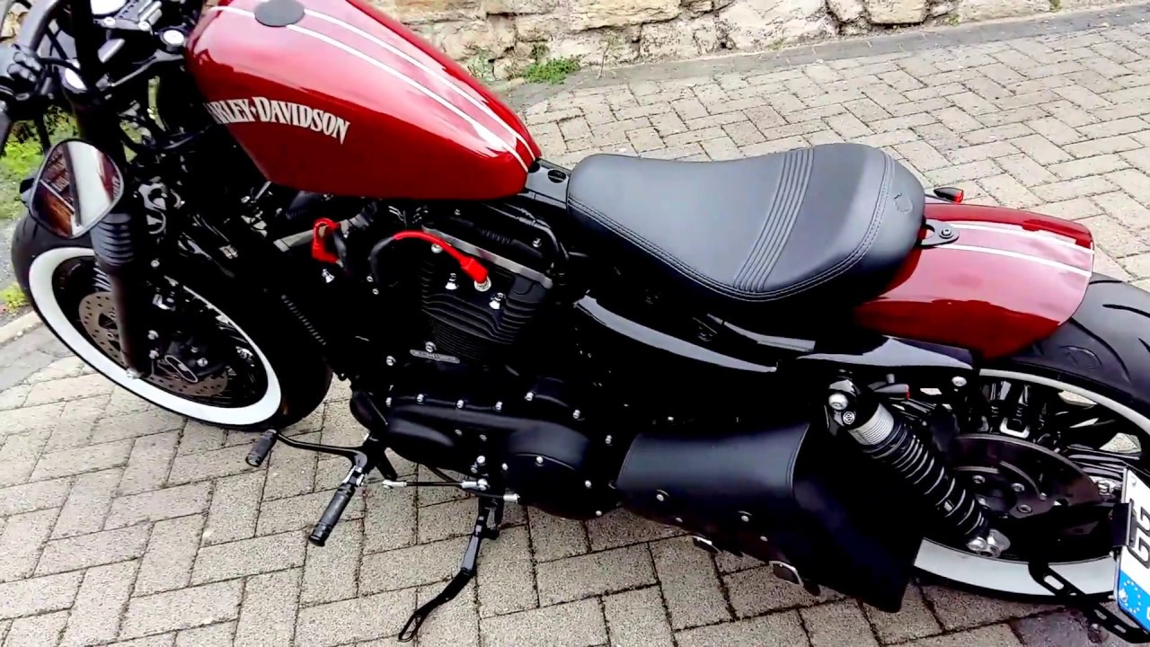 Harley Davidson Forty Eight umbau vance&hines FMC Thor ...