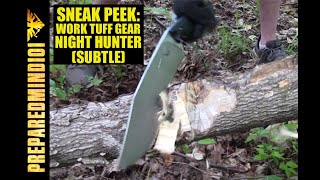 Sneak Peek: Work Tuff Gear Night Hunter Monster Chopper - Preparedmind101