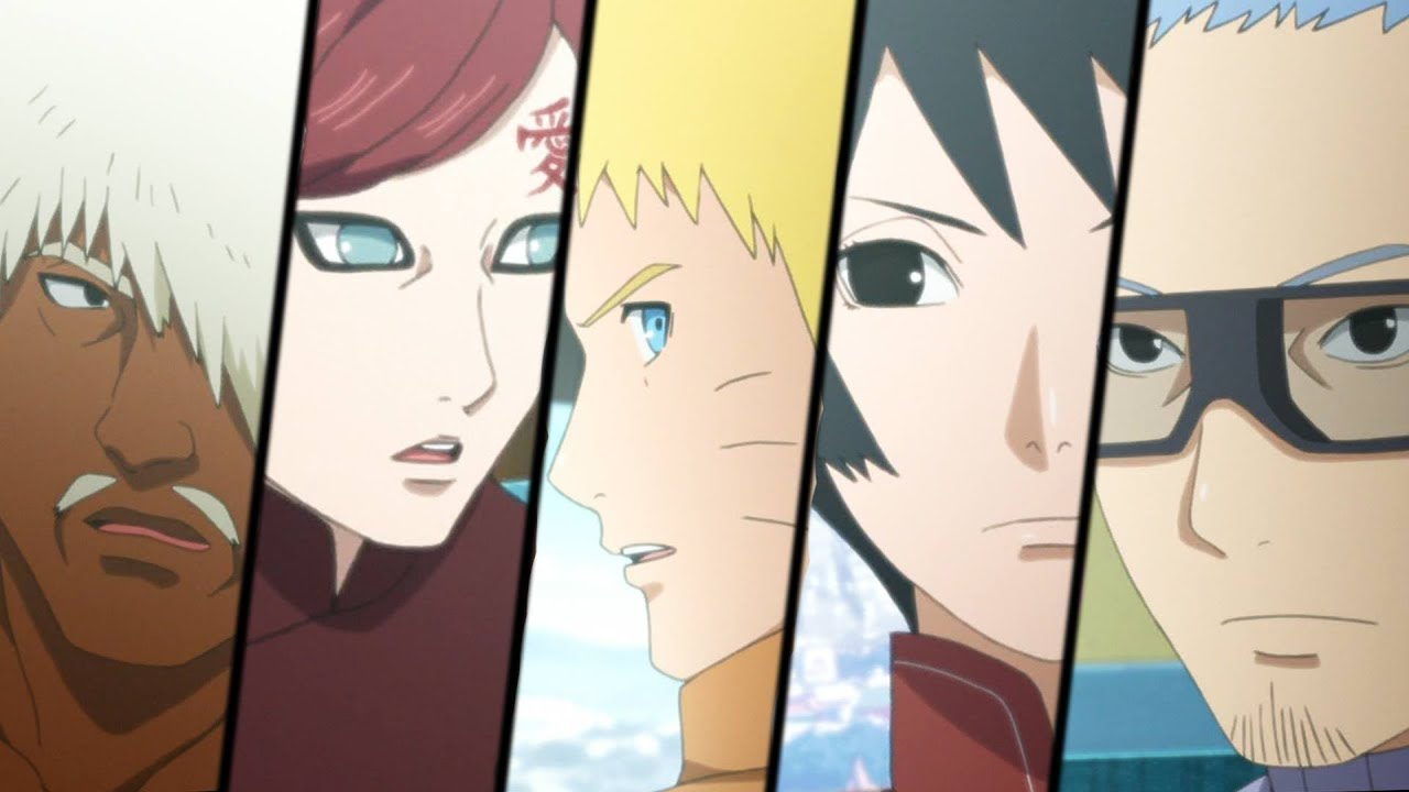 BORUTO Episode 24 Anime -ボルト- Review: New 5 Kage Summit - YouTube