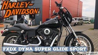 Fxdx Dyna 2003 Super Glide Sport Harley Davidson Screamin Eagle Pro Exhaust Youtube