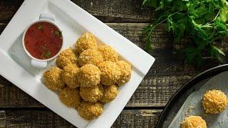Baked Potato Cheese Balls Recipe