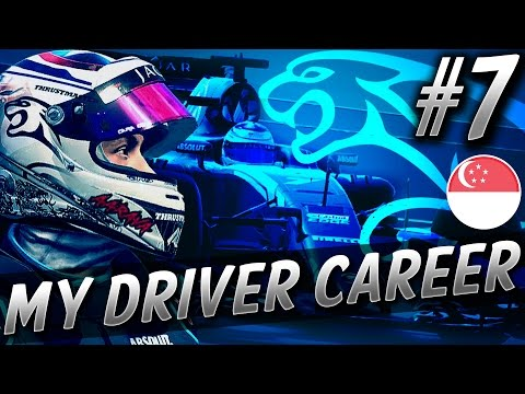 HUGE CRASH & ENGINE SMOKING! - F1 MyDriver CAREER S5 PART 7: SINGAPORE